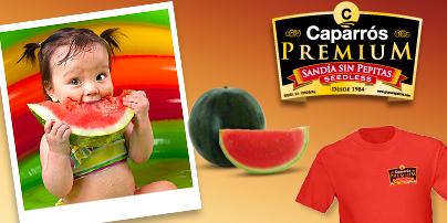 Consigue una camiseta de niño/a de Sandía Caparrós Premium
